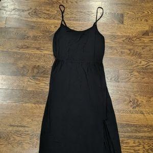 American Eagle Black Cami Maxi Dress Small